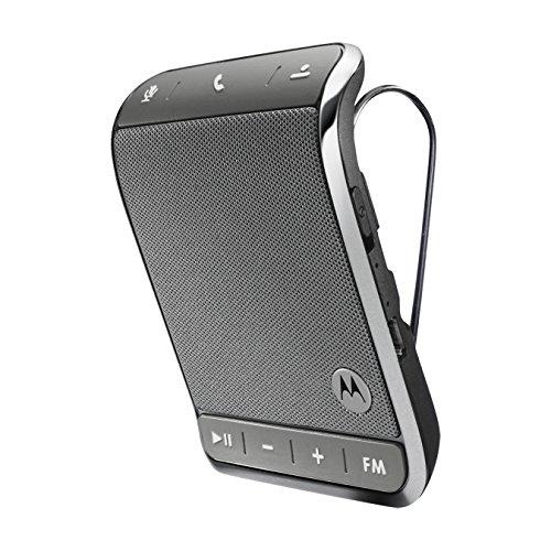 Motorola Roadster 2 Universal Bluetooth In-Car Speakerphone - Retail Packaging - Silver