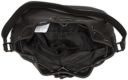 Liu Jo Damen Basket Bag Tornistertaschen, 28x28x14 cm Schwarz (Nero/gun metal A7560)