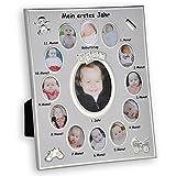 Bilderrahmen Mein erstes Jahr Baby Fotos Bilder Alurahmen 25x30cm