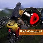 welltop-Luce-Posteriore-Smart-Bike-Ultra-Bright-Ricaricabili-USB-Luce-Posteriore-Rossa-Impermeabile-con-5-modalit-di-luminosit-accensionespegnimento-Automatico-rilevamento-del-Freno