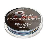 Daiwa Tournament 8 Braid Evo 50 m multicolor 0,26 mm