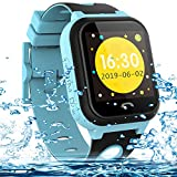 Kids Smart Watches Phone Waterproof, Vannico Touch Screen Kids Tracker Watch for Boys