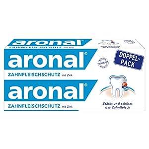 aronal ZAHNFLEISCHSCHUTZ Zahnpasta mit Zink, Doppelpack, 150 ml