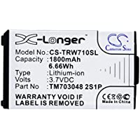 CS-TRW710SL Batería 1800mAh [Tritton] Warhead 7.1 sustituye TM703048 2S1P