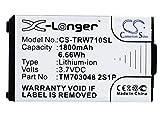 Batterie kompatibel mit Tritton Warhead 7.1 Teil NO TM703048 2S1P