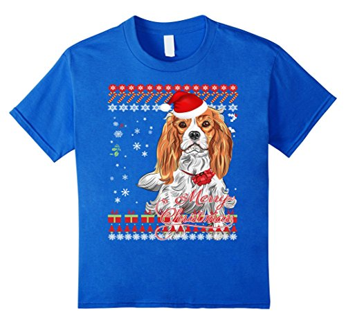 Cavalier King Charles Spaniel Ugly Christmas Sweater Shirt