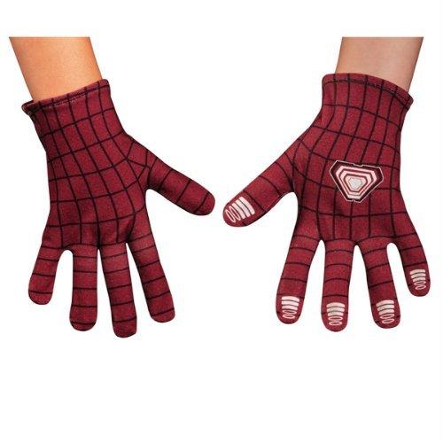 The Amazing Spider-Man 2 Gloves Kostüm Zubehör (Kostüm The Amazing Spider Man 2)