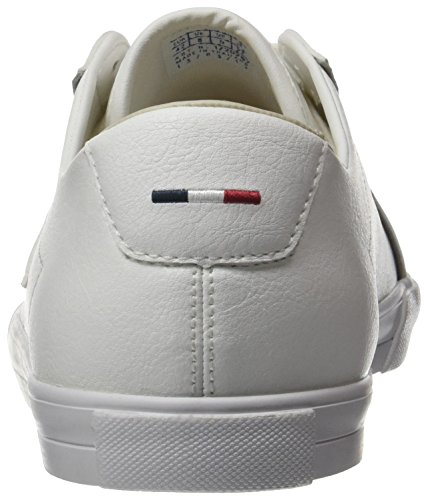 Le Coq Sportif Feret ATL Leather, Baskets Basses Homme Blanc (Optical White/Turtle)