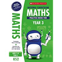 Maths practice book for ages 7-8 (Year 3). Boost success with complete national curriculum coverage (100 Practice Activities)