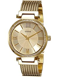 Guess Analog Gold Dial Women's Watch - W0638L2