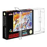 Link-e ® : 10 X Boitier de protection plastique pour boites de jeux Super nintendo (SNES) ou Nintendo 64 (N64)