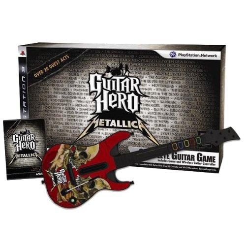 Guitar Hero: Metallica - Guitar Bundle Guitar Hero Gitarre Ps3-bundle