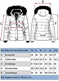 Navahoo Damen Winter Jacke Steppjac...