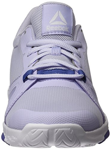 Reebok Trainflex Lite, Scarpe Sportive Indoor Donna Viola (Lucid Lilac/lilac Shadow/white)