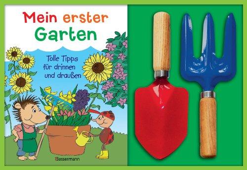 Mein erster Garten-Set: Tolle Tipps für drinnen und draußen. Buch mit Schaufel und Harke