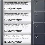 Siedle + Söhne Tasten-Modul TM 612-4 AG anthrazitgrau Funktionsmodul für Türkommunikation 4056138001309