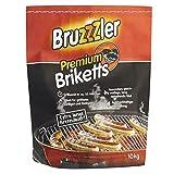 Bruzzzler 10 kg Premium BBQ Holzkohlebriketts, Grillkohle, grillbereit in ca. 35 Minuten, FSC-zertifiziert, hochwertige Kohle zum Grillen