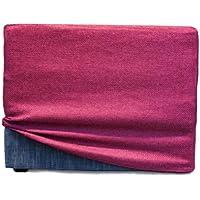 Arketicom Fodera per TOUF il Letto che diventa Pouf. Color Marrone 80x63x45 cm