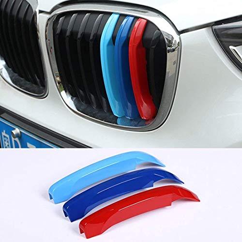 car-styling ABS Außerhalb Zubehör Front Grill Trim Deko Sport Streifen Embleme Rahmen Cover Aufkleber für X1F4820162017 -
