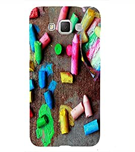 Colourful Chalks Back Case Cover for Samsung Galaxy Grand 3 G720::Samsung Galaxy Grand Max G720