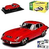 alles-meine.de GmbH Jaguar E-Type Coupe Rot 1961-1974 1/43 Atlas Norev Modell Auto