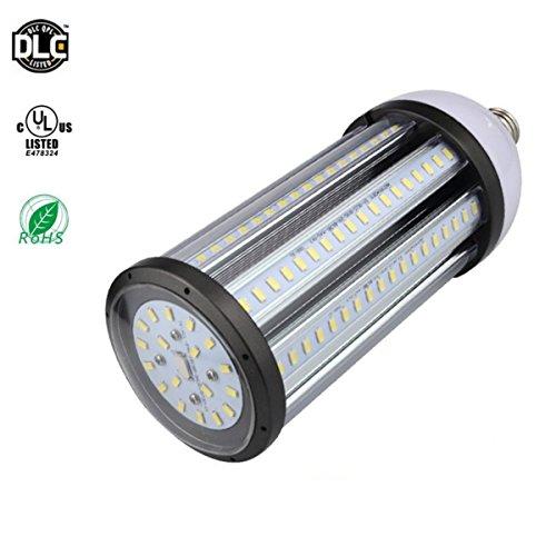 RDJM 100W Tageslicht-LEDs Mais Licht 7000K E40LED Retrofit Leuchtmittel für Lager Werkstatt Garage Barn Backyard Garden Weg Post Top Street Beleuchtung [Energieeffizienzklasse A +] -