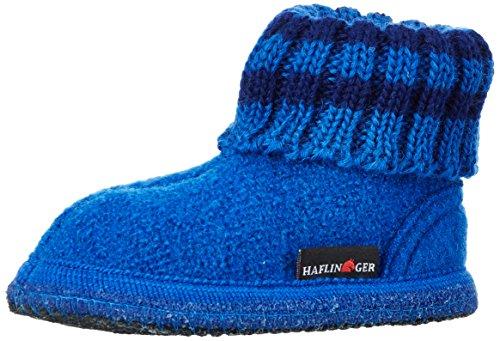 Haflinger Paul, Ciabatte Unisex – Bambini Blu (Blau (Kobalt 74))