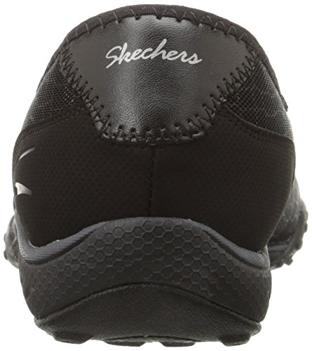 Skechers - Breathe-easyallure, Scarpe da ginnastica Donna Black Mesh