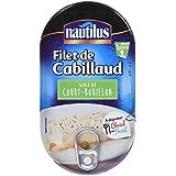 Nautilus Filet de Cabillaud Court Bouillon 190 g - Lot de 4