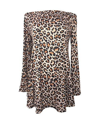 Kleider Damen Kurze Leopard Abendkleider Sexy Elegant Sommerkleider Festlich Cocktail Minikleid...