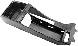 Cheniess Auto Zubehör Mittelkonsole Trim Base Fit For Bmw E46 325i 328i 330i M3 Car Styling Color Black Küche Haushalt