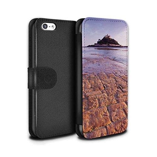 Stuff4 Coque/Etui/Housse Cuir PU Case/Cover pour Apple iPhone 5C / Pack 9pcs Design / Château Fort Collection Colline