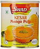 #1: Swad Kesar Mango Pulp Sweetened, 850g