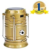 #4: Rextan Solar Emergency Light Lantern, USB Mobile Charging Point Compatible with iOS and Android Smartphones (One Year Warranty)