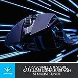 Logitech G502 LIGHTSPEED Kabellose Gaming-Maus (LIGHTSYNC RGB-Maus, 16.000 DPI, 11 programmierbare...