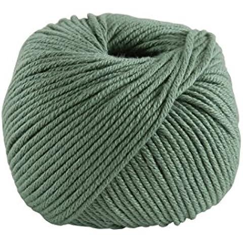 DMC-Filato di Natura, in puro cotone, motivo: 87 cm, colore: verde, taglia M