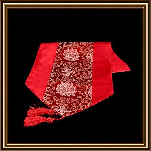 1,5 m cinese ricco Hanaya panneggio arazzo tovagliette di tabella di corridore tovaglia decorata il corridore della tabella tavolino salotto , 3