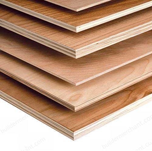 Builder Merchant CNKLJ0046 Wbp Hardwood Plywood, Wood, 15 x 610 x 610 mm