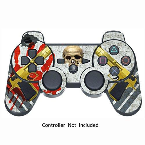Sony PS3 Controller Sticker - Aufkleber Schutzfolie Skin für Playstation DualShock 3 Wireless Controller - Ghost Ops