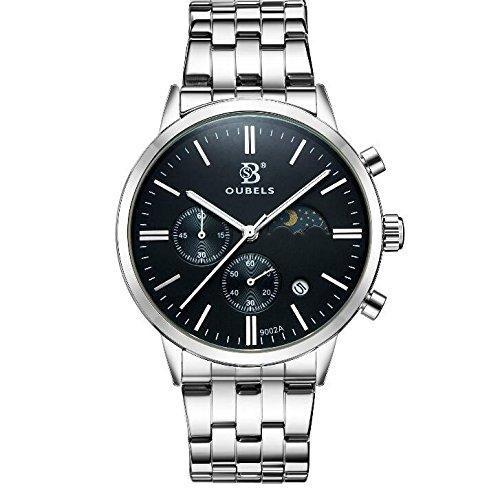 SHOUBIAO® Reloj Reloj De Cerámica De Cuarzo Resistente Al Agua De Los Hombres , 1