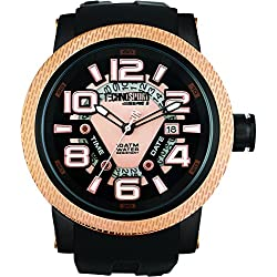 TechnoSport Damen Chrono Uhr - JET SET gold / schwarz