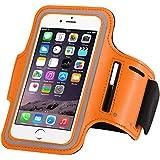 i6 Plus Armband Case, Adjustable WIITOP SPORT GYM Armband Bag Case for Apple iPhone 6 Plus 6s Plus Waterproof Jogging Arm Band Mobile Phone Belt Cover -Orange