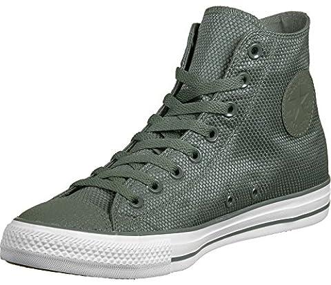 All Star Olive - Converse All Star Hi Tech Deboss chaussures