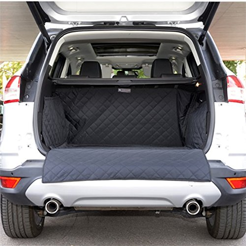 UK Custom Covers QBL164 Tailored Quilted Boot Liner Mat - Black