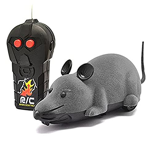 Elektrische Drahtlose Fernbedienung RC Ratte Maus Spielzeug Haustier-Katzen-Spielzeug-Maus für Haustiere Kinder / Tricky von Creation®