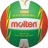 Freizeitball, weiches Synthetik-Leder, maschinengenäht - Farbe: Grün/Orange/Weiß, Größe: 5