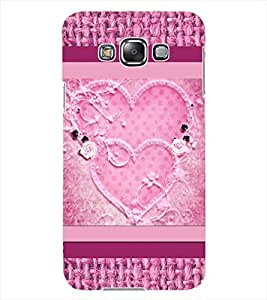 ColourCraft Love Hearts Design Back Case Cover for SAMSUNG GALAXY GRAND MAX G720