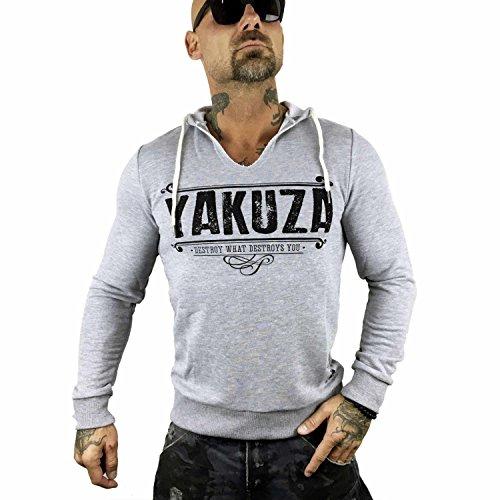 Yakuza Original Herren Poverty Hoodie Kapuzenpullover