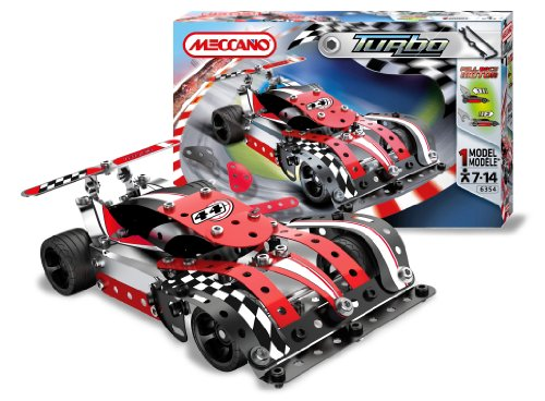 Meccano-886354-Turbo-Evolution-Red