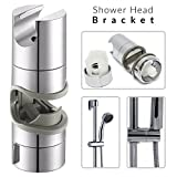 Universeller, verstellbarer Duschkopf, Seifenschalenhalter verchromte Schiene, für das Badezimmer, Wandmontage., 18 to 25mm Adjustable Shower Head Holder
